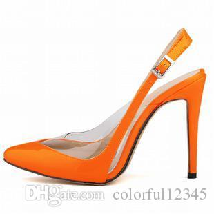 Womens Patent Leather High Heels Sexy Ankle Strap Sandals Pumps Sandals Ladies sapatos Party Wedding Shoes Size