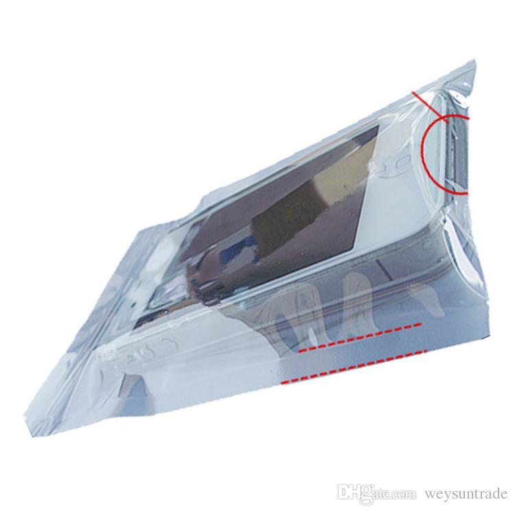 6*9cm Anti Static Shielding Bags ESD Anti-Static Pack Bag Zip Zipper Lock Top Waterproof Self Seal Antistatic Package Bag