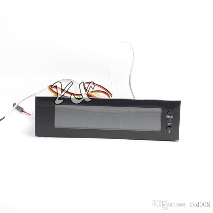 STW-5023 Lüftersteuerung Lüfter Drehzahlregler Optisches Laufwerk Gehäuse Frontplatte 3-poligen 12V Computer Heizkörperthermostaten
