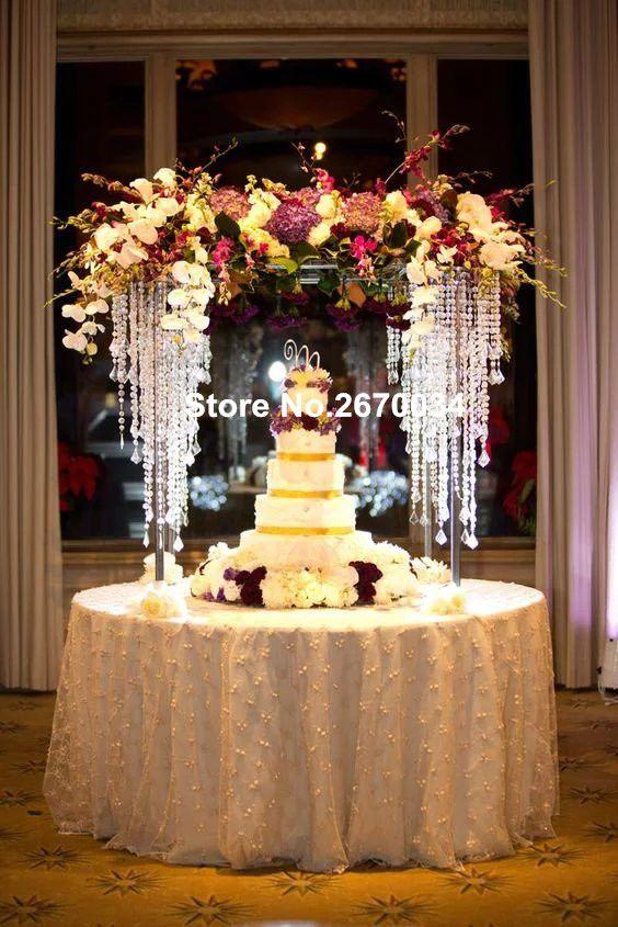 Favori Wedding Stage Decoration Party Crystal Wedding Floor Stand Walkway  PZ51