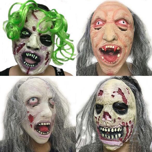 Wholesale Demon Parasite Zombie Mask Latex Accoutrements