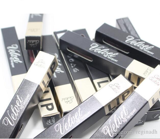 16 Farbe Antihaft-Tasse Lipgloss Matte Lipgloss und Pearl Lippenstift Licht feuchtigkeitsspendende Farbe Make-up Lieferungen