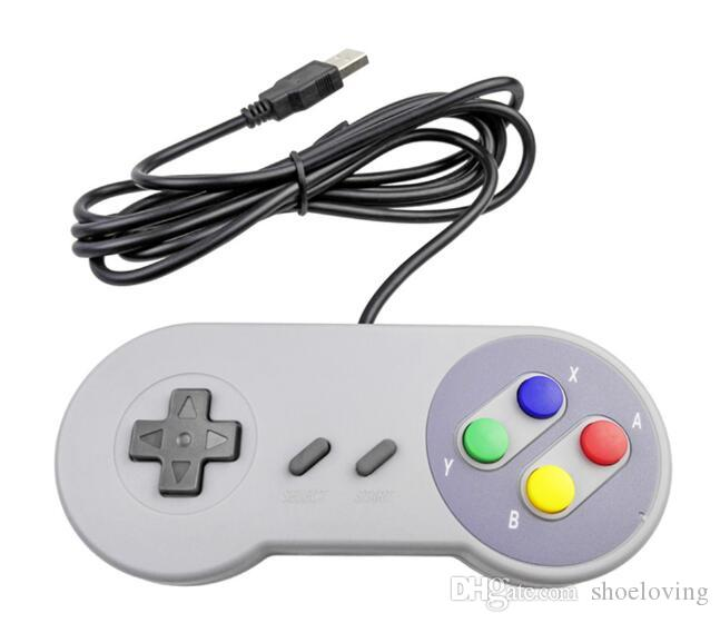 New Hot Retro Gaming for SNES USB Wired Classic Game Pad Joystick Game Controllers For XP WIN 7 8 10 VISTA MAC a #408