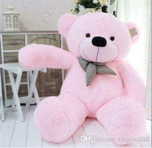 39 Stuffed Giant 100cm Big Pink Plush Teddy Bear Huge Soft 100