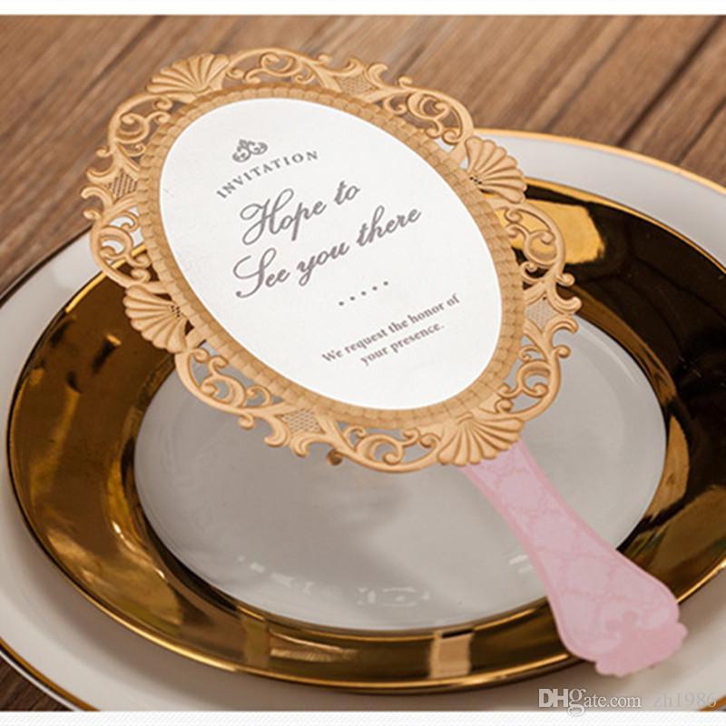 Pink Magic Mirror Laser Cut Wedding Invitations Girl Birthday Party  Celebration Decoration Convites De Casamento Jj609 Carlson Craft Wedding  Invitations ...