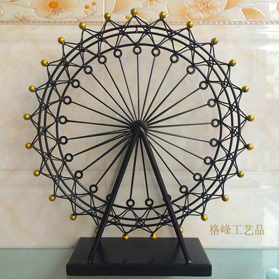 M Size Za Kka Vintage Iron Ferris Wheel Home Accessories Fashion Sky ...