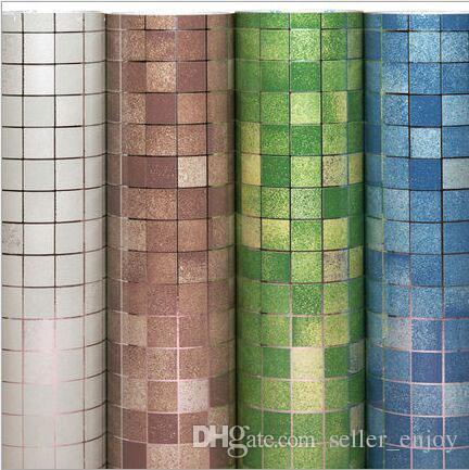 45cm x 5m kitchen mosaic wallpaper waterproof self adhesive wall