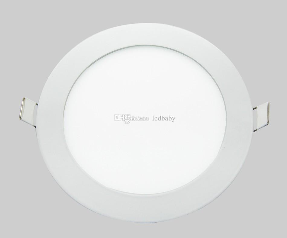 Ultradünne dimmbare LED-Flächenleuchte mit 3 W, 4 W, 6 W, 9 W, 12 W, 15 W, 18 W, rund / quadratisch, LED-Deckeneinbauleuchte mit LED-Downlight