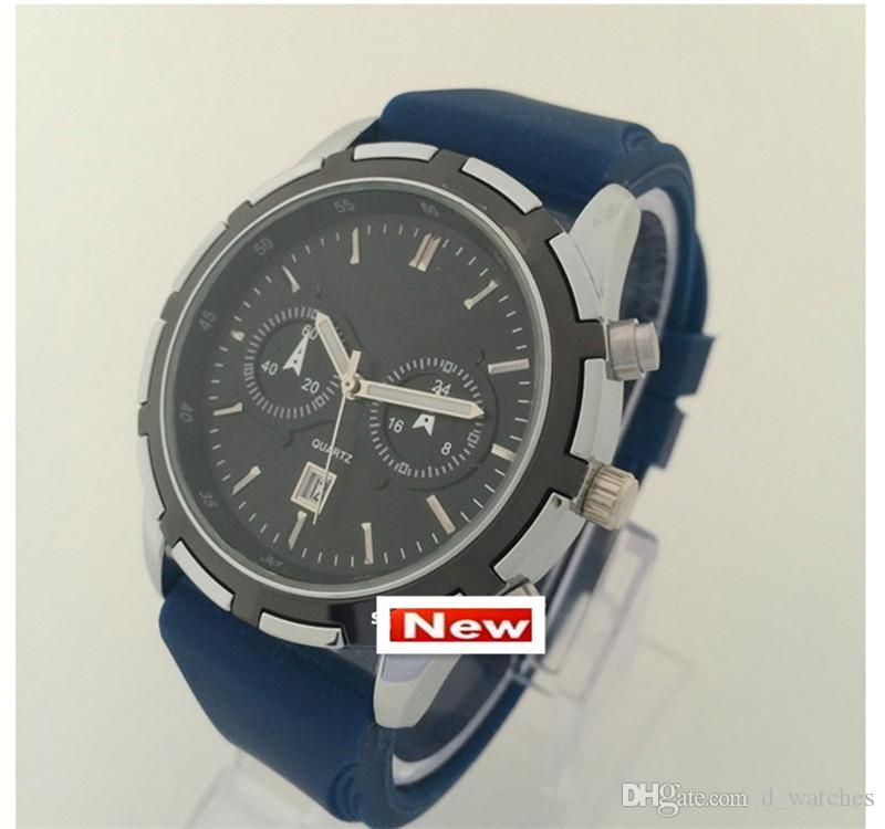 New watches men luxury brand fashion mens watches quartz watch military montre homme male clock leisure wrist watch gift Watches Men