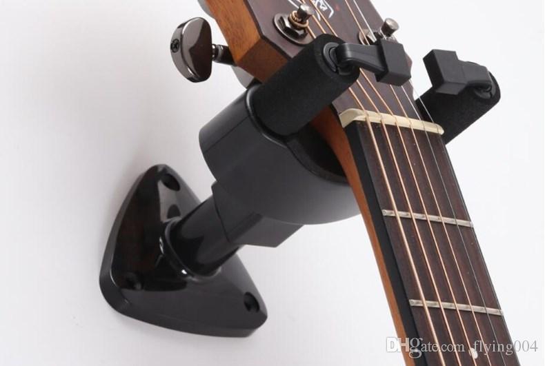Yüksek kalite Ücretsiz kargo Gitar Askı Kanca Tutucu Duvara Montaj Standı Raf Braketi Tüm Boyut Keman Gitar Bas Ukulele MH20 Için Ekran