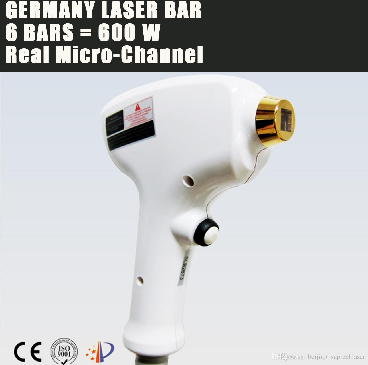 CE permanent 808nm 755nm 1064nm diode laser hair removal equipment with  germany laser bars free shipping on sale