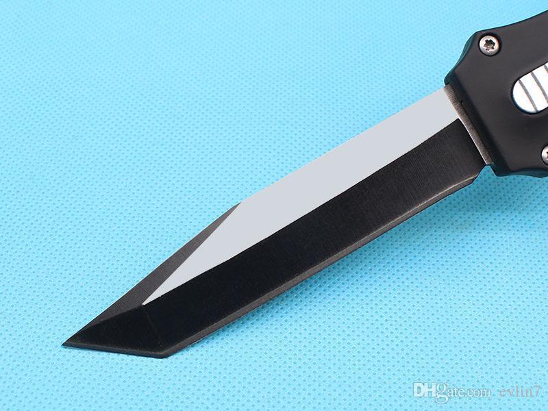 Allvin Manufacture A162 Couteau tactique automatique 440C Tanto Badge Fine Badge Edge Camping en plein air Survie Survie EDC Gear