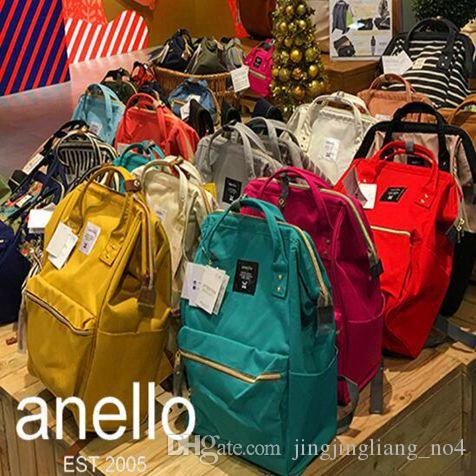 Anello Backpacks For Students Japan Designer Backpacks Double Shoulder Bags  Harajuku Style Travelling Backpack CCA6644 School Bags Messenger Bags From  ... a2bbd1cf8d6ec