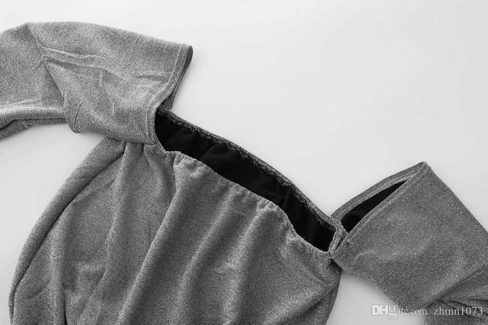 Sexy, solto, brilhante, shimmer-breasted corpete top mulher de tecido roupas femininas roupas sem alças sem forro vestuário superior boob tube top