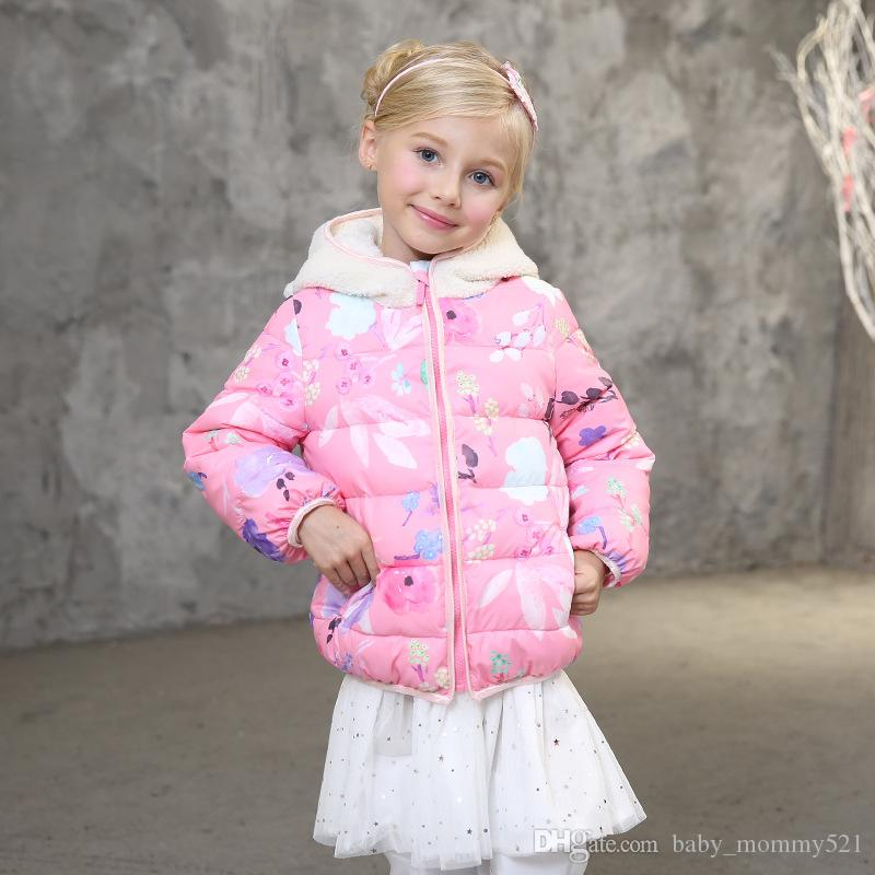 Akane Candy Dolls Illusion: Girls Down Coats New Vogue Candydoll Kids All-match Winter
