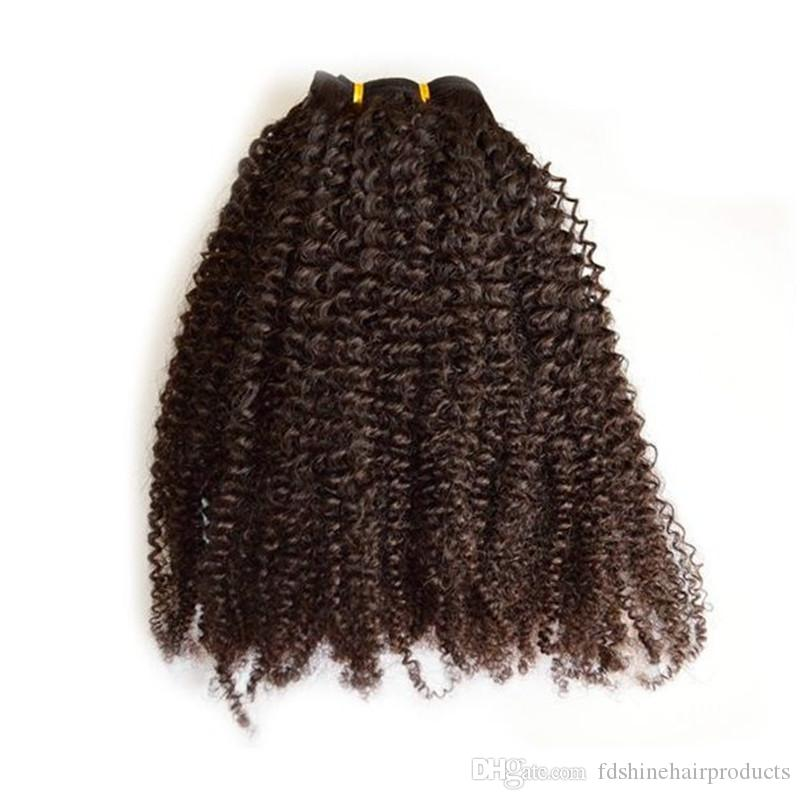 Afro Kinky Curly Clip In Hair High Quality Full Head Vietnamese Clip In Human Hair Extensions FDSHINE HAIR