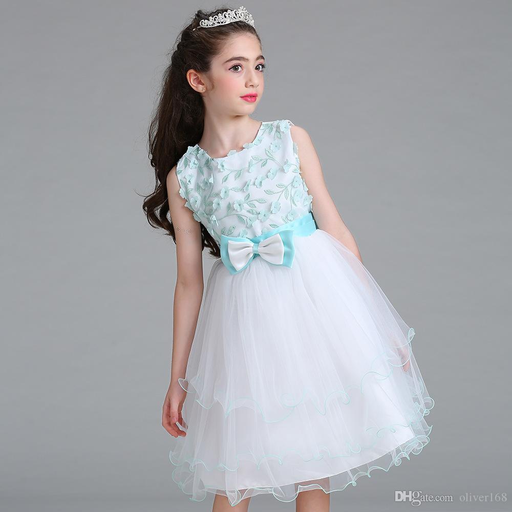 Großhandel Hochwertige Mädchen Party Wear Western Kleid Baby Mädchen ...