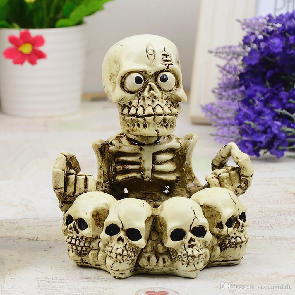 2018 Skull Ashtray New Creative Home Decorations Ornaments Resin Craft Kito  Cendrier From Yaodaxidafa, $13.06 | Dhgate.Com