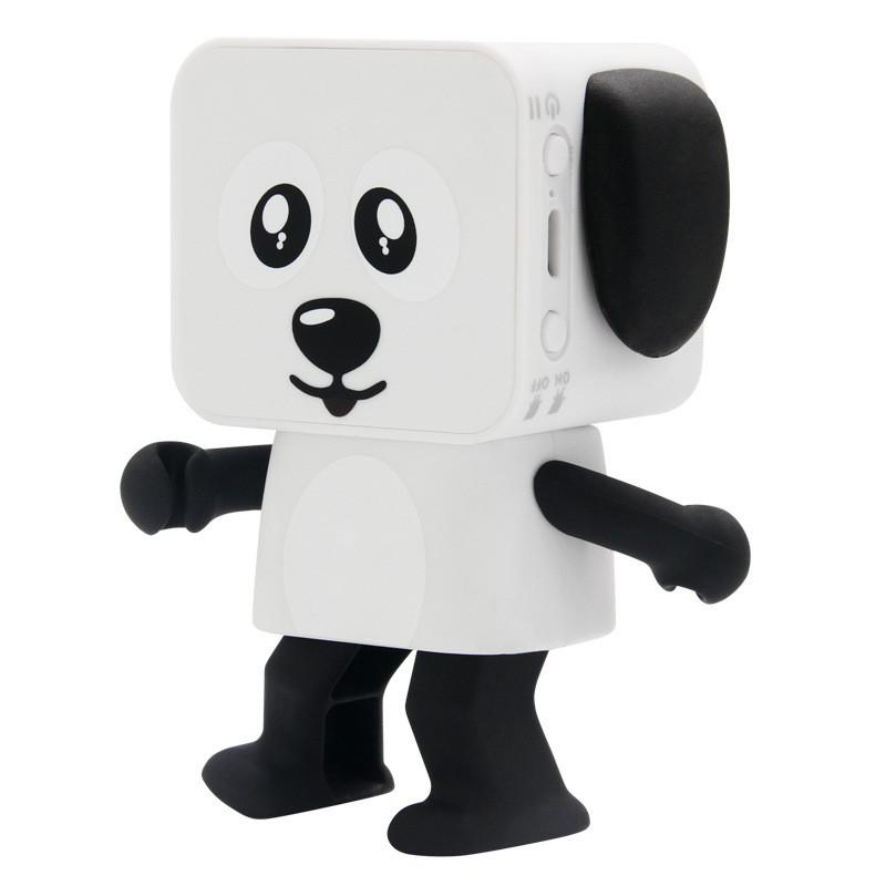 2020 Portable Dancing Dog Toy Bluetooth Speaker Wireless Stereo Music Player Loudspeaker For iphone Samsung With Retail Box Best Toy Gift