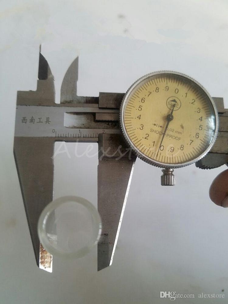 Sustitución de vidrio para la herramienta de los accesorios de hierbas Sistema Chueco Blunt seco de hierbas vaporizador Tubo Grinder Filtro Twist mí Smokig Ecig