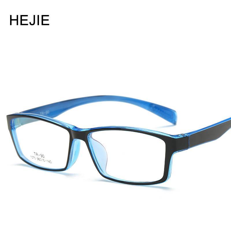 87df7c03c76 2019 Wholesale Fashion Men Women Acetate Eyeglasses Frames Brand TR90 Full  Frame Myopia Glasses Frame For Male Female Size 56 15 140 Y1018 From ...