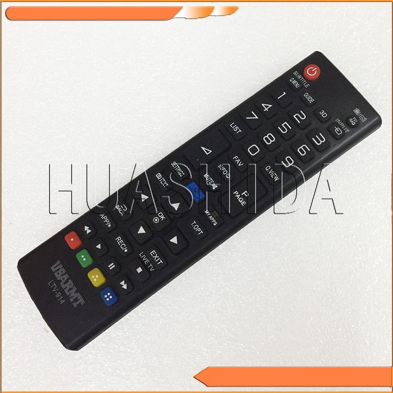 Wholesale- New Universal Remote Control LTV-914, suitable for LG TV / RAD  3D Smart TV for many models
