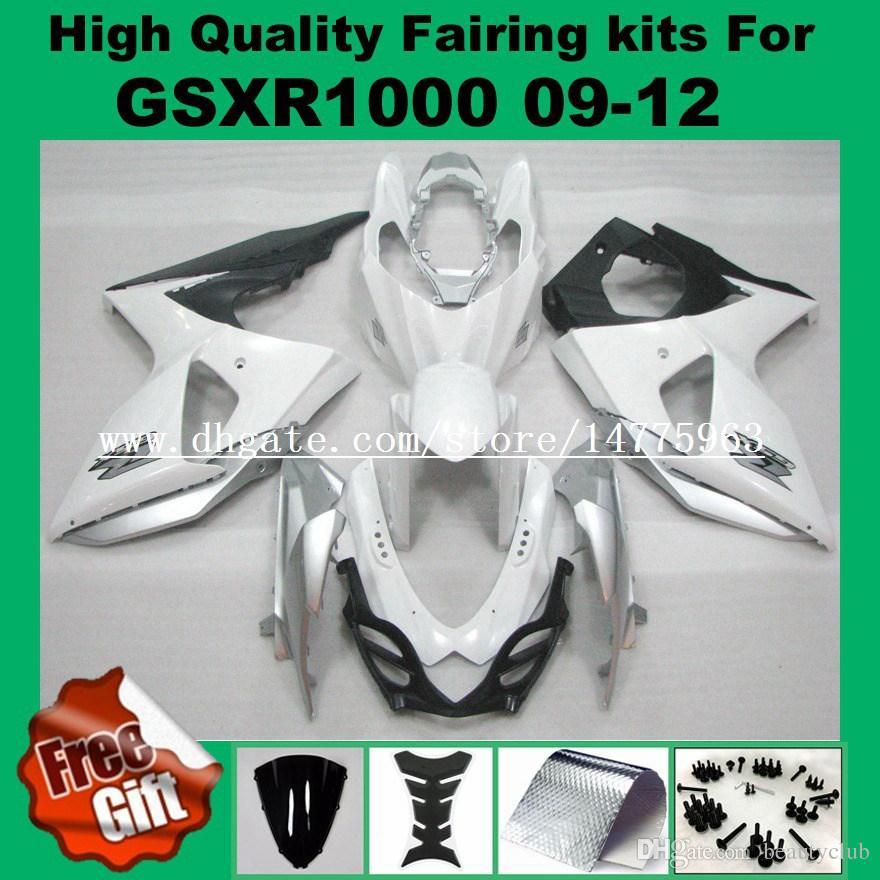 SUZUKI GSXR1000 2009 2010 2011 2011 2012 GSX-R1000 09 10 11 12 K9 Tükenmez kit için enjeksiyon kaporta kitleri