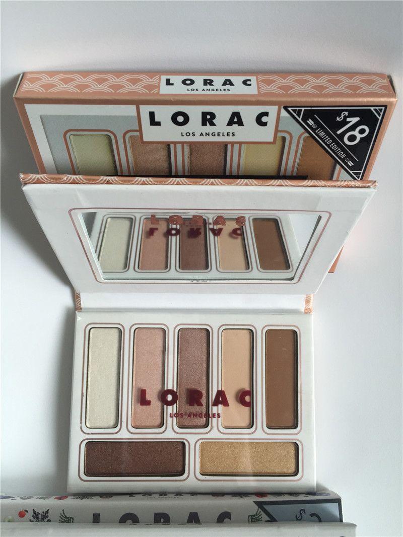 Top Lorac Los angeless BLACK TIE ATTIRE Eye Shadow Palette Make up DHL