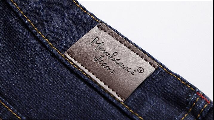 Classic Denim Shorts Men's Summer Thin Denim Casual Shorts New Male Knee Length Slim Elastic Short Jeans Deep Blue Short Jeans
