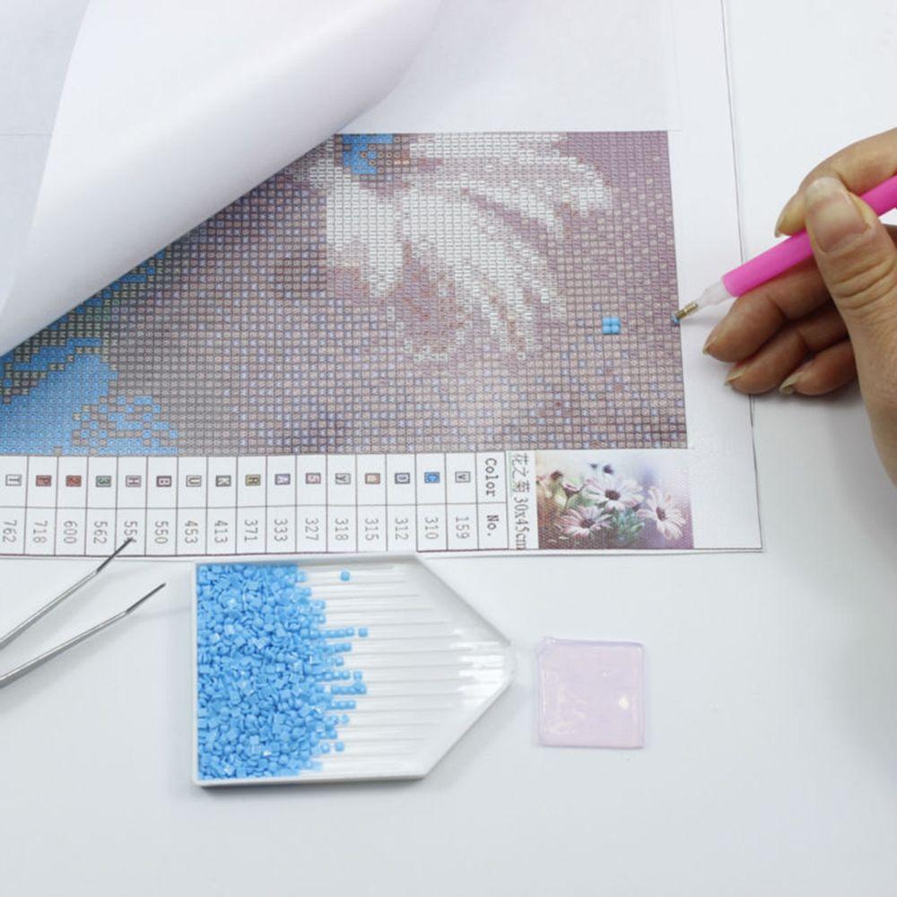 Purple Sunset Cheval Imprimer diamant broderie bricolage diamant Needlework peinture Point de croix 5D strass peinture Home Décor Sans cadre