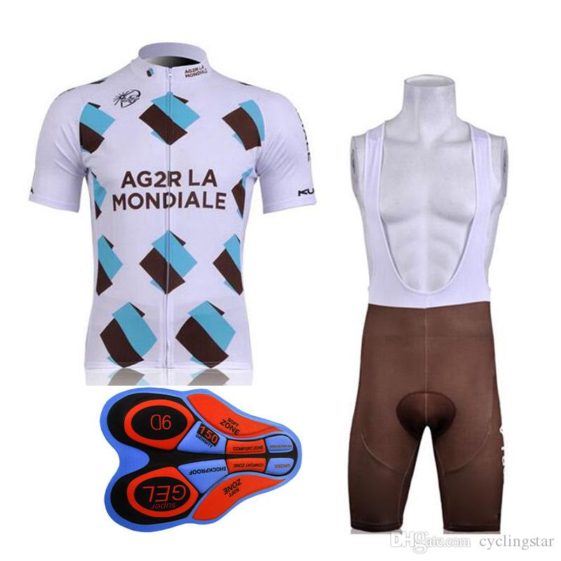 New 9D GEL Pad Ag2r Cycling Clothing Bicycle Clothes Wear Ropa ... f939b752e
