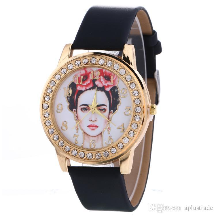 21eadfc64f18 Compre 21 Estilos es Lujo México Artista Cuero PU Relojes De Cuarzo Hombres  Mujeres Marca De Lujo Reloj De Hombre De Moda A  1.68 Del Aplustrade