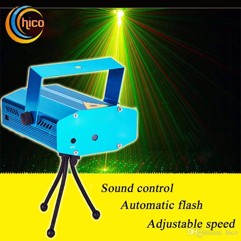 mini led christmas laser lights laser stage lights projector stage lighting adjustment disco dj party home wedding club projector mini laser lights