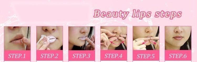 Collagen Protein Lip Mask Sexy Crystal Membrane Collagen Moisture Essence Lips Máscaras Lip Regordete y mejora para mujeres y hombres