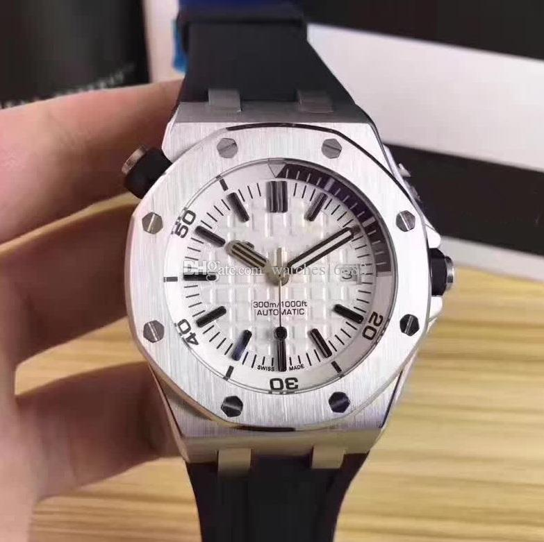 aa71b6296f8 Factory Supplier Luxury AAA Brand New 42mm Wristwatch Offshore White ...