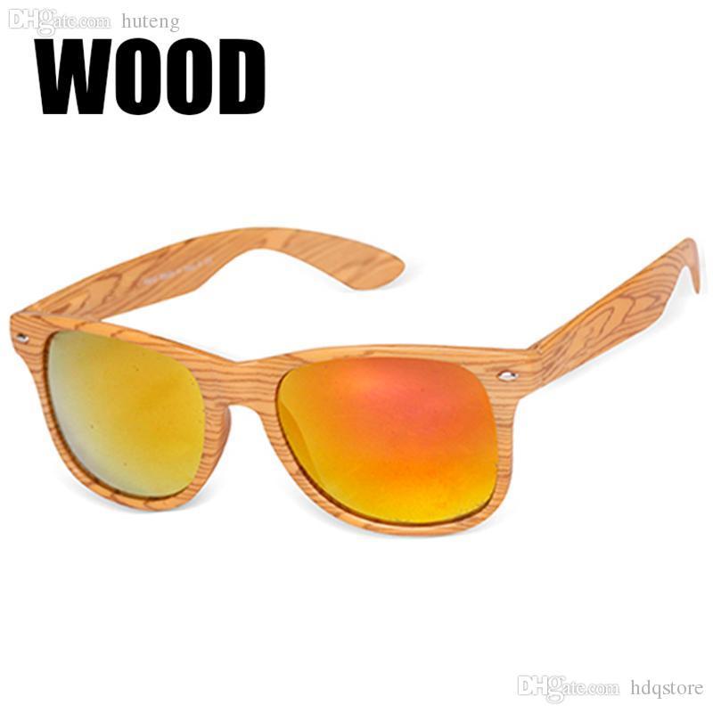 0c903ecb650f HOT SALE-2016 News Plastic Wood Sunglasses Men Women Brand Designer Square  Sport Sun Glasses Gafas De Sol Oculos Masculino Eyewear Glasses Parts  Eyewear Bag ...
