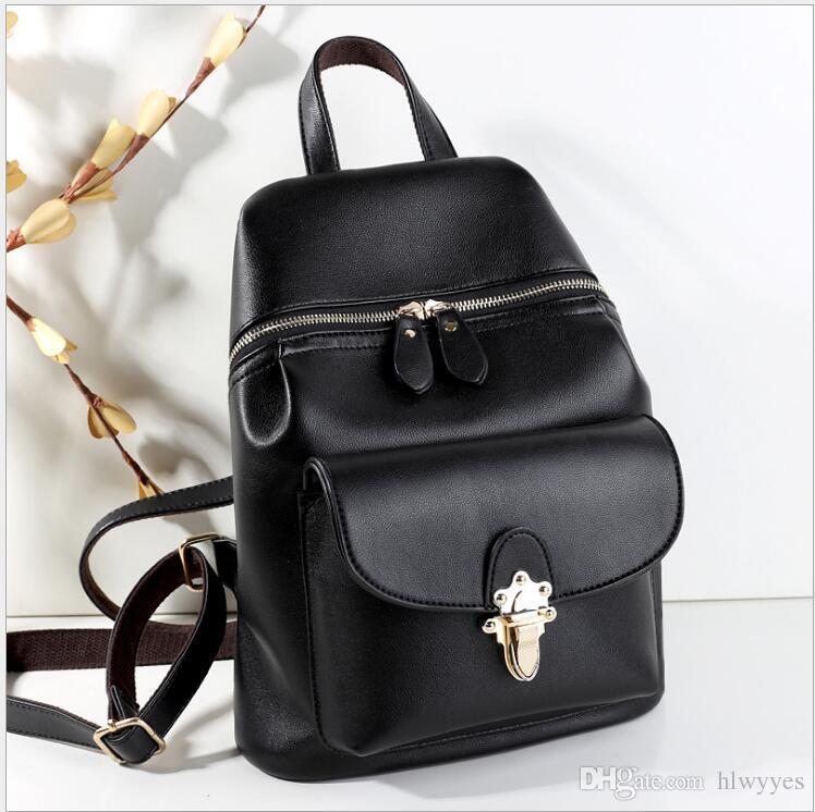 O novo 2017 ms HL mochila Han edição tendência a nova mochila saco de estudantes da moda saco de lazer Sacos De Escola