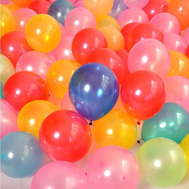 Grosshandel Hochzeit Dekoration Geburtstag Party Ballons 10 Zoll