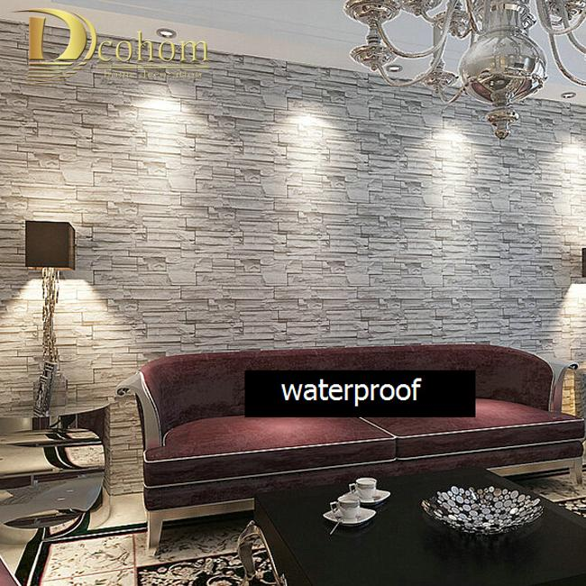 Uberlegen Wholesale Modern Style 3d Wallpaper Stone Brick Design Background Wall Pvc  Wallpaper Waterproof Papel De Parede Tapete Rolls R244 Wallpapers For  Computer ...