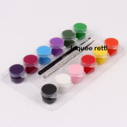 Acheter Vente En Gros 12 Couleurs Peinture Acrylique Peinture Stylo