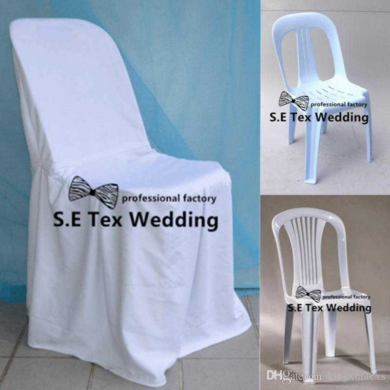 100 Polyester Chair Cover Fit For Plastic Chair For Event