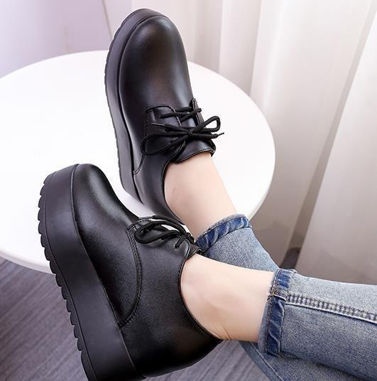 0ab469d55194 New Casual Fashion Sneakers High Platform Shoes With Black Color Good  Choose For Girls And Women Office Shoes Running Shoes From  First outstanding