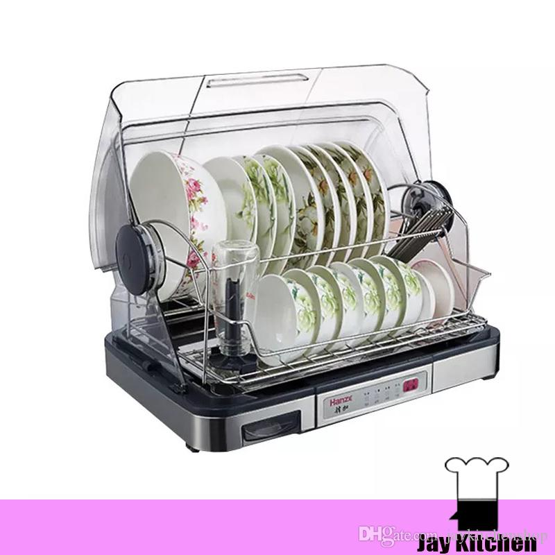 kitchen dish dryer electric dish drainer mini cabinet for dishes sterilizing dish dryer plate cup storage rack 220v from