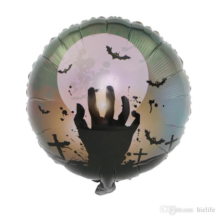 Счастливый Хэллоуин Фольгированный Шар Свадебные Украшения Партии Домашних Детей Тыквы Призрак Декор Поставки Террор Веселые Шары