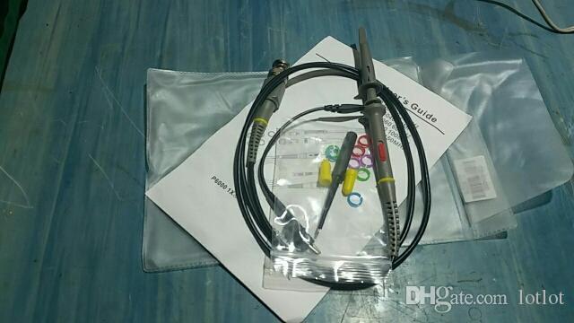 P6100 100MHz Oscilloscope Probe DC-100MHz Scope Clip Probe 100MHz For Tektronix HP