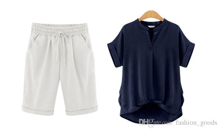 Good A++ Summer female pants pants large size 200 pounds fat mm loose pants WS013 Women's Shorts