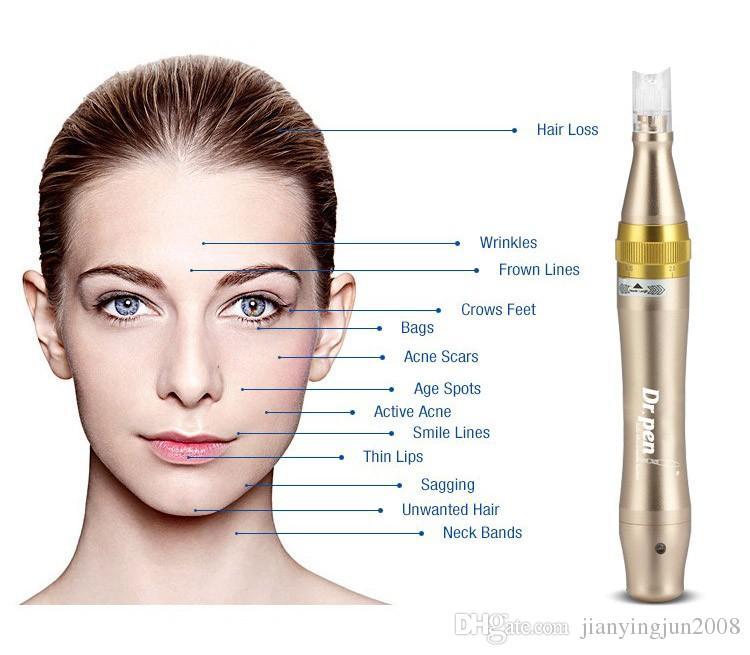 Derma pen micro needle pen Dr.pen acne remover tool