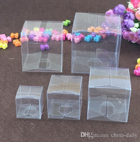 Plastique Bijoux Boîte bijoux bijoux emballage 16x19 cm Bleu Nouveau