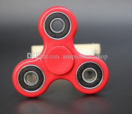 EDC HandSpinner Fingertips Spiral Fingers Fidget Spinner Hand Spinner Acrylic Plastic Fidgets Toys Gyro Toys With Retail Box