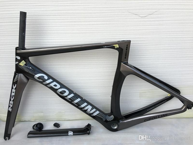 2016 Carbon Road Frame Cipollini NK1K Carbon Bike Frame T1000 Carbon Frame,Fork,seatpost,headset,clamp cadre carbone